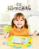 畫板磁性寫字板寶寶繪畫板涂鴉板嬰幼兒彩色小孩畫畫板 完美情人精品館