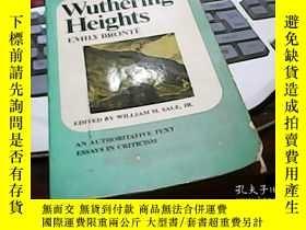 二手書博民逛書店wuthering罕見heights 英文原版Y14476 wu