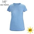 【ARC TERYX 始祖鳥 女 Taema快乾短袖圓領衫《倒影雜藍》】26926/短袖T恤/運動衫/透氣/吸濕排汗