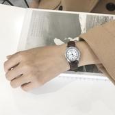 店長推薦 手錶女閨蜜中學生韓版簡約皮帶細帶小表盤少女心可愛初中生高中生