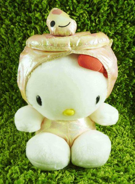 【震撼精品百貨】Hello Kitty 凱蒂貓~KITTY生肖絨毛娃娃-亮面蛇