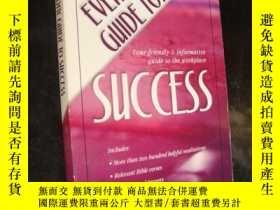 二手書博民逛書店THE罕見EVERYDAY GUIDE TO SUCCESS 英