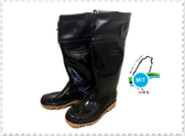 {拾在便宜}台興- 多功能布套長靴 釘底雨鞋 園藝 工作 土水 男雨鞋 塑膠工作鞋 布套釘底-2300