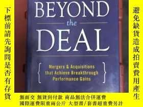 二手書博民逛書店Beyond罕見the Deal: Mergers & AcquisitionsY220613 hubert