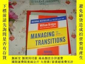 二手書博民逛書店英文原版《MANAGING罕見TRANSITIONS -MAKI