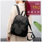 後背包-韓國迪士尼個性金屬鉚釘米奇大頭後背包-單1款-A12121884-天藍小舖