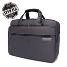公文包 SPYWALK點子提花經典多隔層14吋電腦袋公事包NO:1575