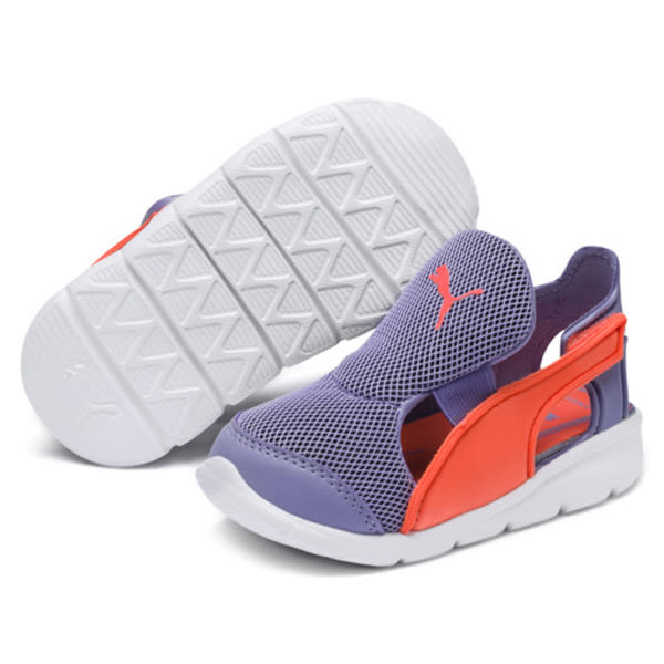 PUMA Bao 3 Open Infant 童鞋 小童 涼鞋 透氣 網布 舒適 紫 【運動世界】 19069904
