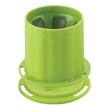 金時代書香咖啡  Tiamo UFO-180 不鏽鋼 滴漏濾杯 濾網 1-2人份 (翠綠)  HG2312