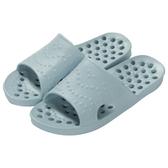 輕便排水拖鞋 浴室拖鞋 TC707 GY 43-44 NITORI宜得利家居