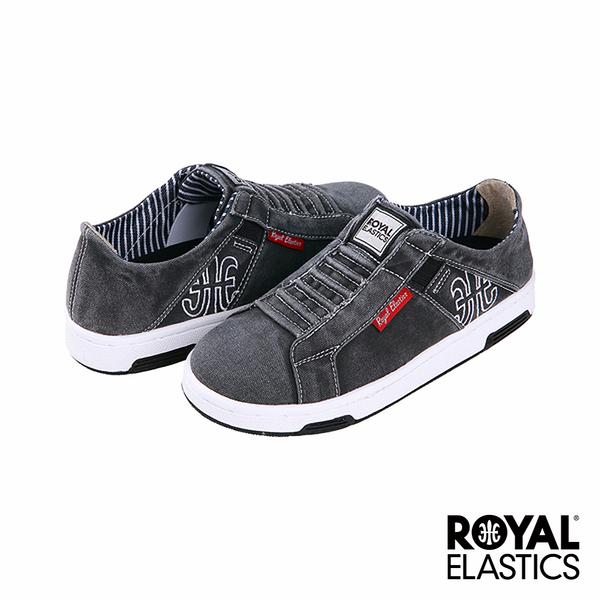 Royal Elastics Icon Washed 經典運動鞋-水洗黑