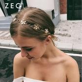 ZENGLIU發帶韓國 頭飾簡約發箍發夾頂夾成人韓版優雅發簪盤發飾品