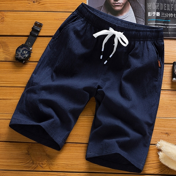 降價兩天 短褲男士休閒寬鬆直筒運動5五分褲 七分純棉韓版潮流百搭沙灘褲