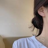 精致微鑲鋯石耳環女氣質個性簡約百搭耳釘耳飾【小酒窝服饰】