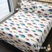 老粗布床單單件加厚簡約全棉帆布單雙人棉布被單1.5m1.8米床 全館免運