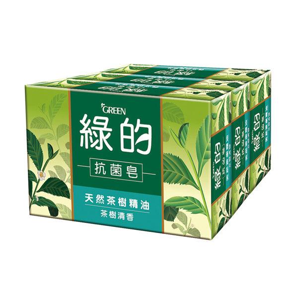 綠的GREEN 抗菌皂-茶樹清香(100g*3入)