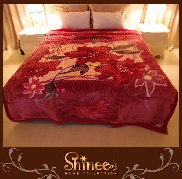 SHINEE 高級《華麗綻放》日本長毛金鑽超柔毯1入 毛毯 毯子 棉被 被子