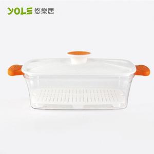 【YOLE悠樂居】Blest易料理蒸籠-長形1400ml