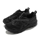 Asics 野跑鞋 Gel-Sonoma 6 G-TX 男鞋 全黑 防水 運動鞋 【ACS】 1011B048002