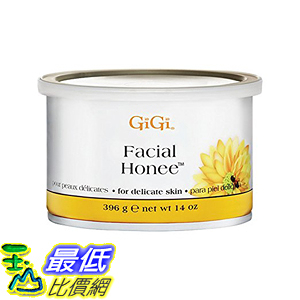 [107美國直購] 蜜蠟 GiGi Facial Honee For Delicate Skin, 14 Ounce