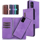 三星S20/S10/S9/S8Plus拉鏈卡包保護殼 翻蓋皮套三星S10+手機殼 SamSung S9plus保護套 Galaxy S20 Ultra手機套
