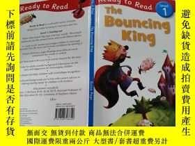 二手書博民逛書店The罕見bouncing king( 躍的國王)外文版Y200