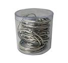 《享亮商城》Q09705 卡片環 2吋(鍍鎳)-PS圓桶25入