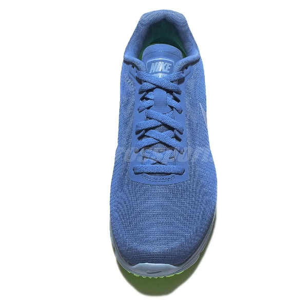 【US7.5-NG出清】Nike 慢跑鞋 Wmns Air Max Sequent 鞋底些微使用痕跡 藍 綠 運動鞋 氣墊 女鞋【ACS】