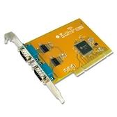 SUNIX 三泰 SER5037A 2埠 RS-232串列 Universal PCI卡
