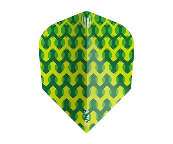 【TARGET】FABRIC PRO.Ultra Green TEN-X 335230 鏢翼 DARTS