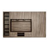 【Arkhouse】伯利恆系列-客廳電視專業收納plus展示視聽櫃 W360*H218*D50