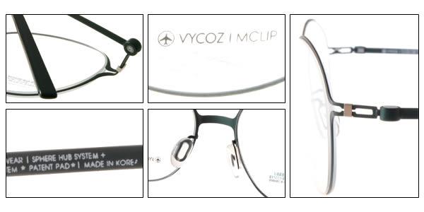 VYCOZ 光學眼鏡 VENUS AQAAQ (綠) 薄鋼工藝 極簡圓框款 # 金橘眼鏡
