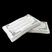 枕頭 枕頭紫羅蘭全棉精美繡花枕頭枕芯羽絲絨護頸枕成人學生單人頸椎酒店(快速出貨)