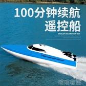 遙控玩具-超大遙控船充電高速遙控快艇輪船無線電動男孩兒童水上玩具船模型  YJT 喵喵物語