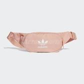 adidas 斜肩包 Essential Crossbody Bag 粉 白 男女款 側背包 【ACS】 DV2401