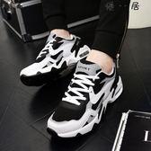透氣男式增高鞋運動鞋休閒鞋網面跑鞋Y-3783