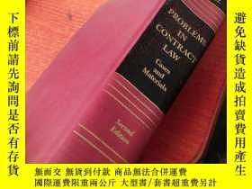 二手書博民逛書店PROBLEMS罕見IN CONTRACT LAW Cases