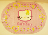 【震撼精品百貨】Hello Kitty 凱蒂貓~家具-地墊-鬱金香135*195【共1款】