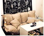 懶人沙發 懶人沙發榻榻米摺疊沙發雙人日式多功能小戶型沙發椅臥室懶人沙發·夏茉生活YTL