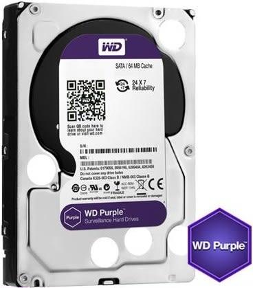 威騰 WD 紫標 3.5吋 2TB 監控硬碟 WD20PURZ