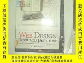 二手書博民逛書店WEB罕見DESIGN 02 網頁設計Y203004