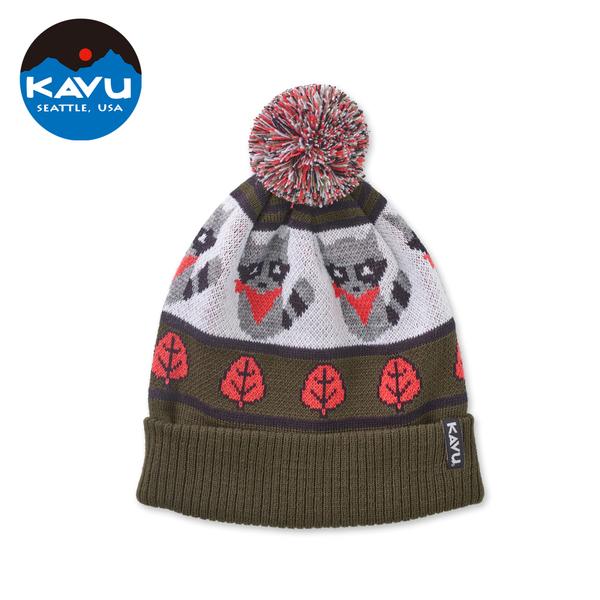 西雅圖 KAVU Herschel 時尚保暖毛帽 土匪 #1008