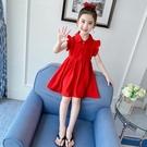 兒童洋裝 女童洋裝夏裝2021年新款公主裙網紅洋氣童裝小女孩夏季兒童裙子