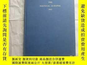 二手書博民逛書店THE罕見NAUTICAL ALMANAC1965Y18210