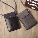 韓國文藝清新復古手機包純色側背斜挎包小包包迷你零錢包手機袋 韓美e站
