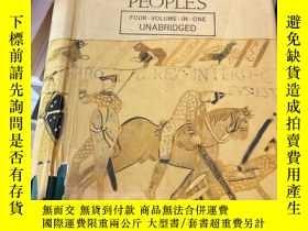 二手書博民逛書店A罕見History of the English Speaking PeopleY204445