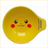asdfkitty可愛家☆日本金正陶器 寶可夢 皮卡丘有把手陶瓷碗/湯碗/飯碗/點心碗-可微波-日本製