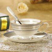 歐式咖啡杯骨瓷創意小奢華簡約陶瓷英式下午茶紅茶杯子咖啡杯碟勺 【萬聖節推薦】
