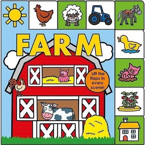 Lift-The-Flap Tab:Farm 森林農場 硬頁翻翻操作書(英國版)