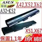 ASUS 電池(原廠)-華碩 A32-K52,A42,A42D,A42DE,A42DQ,A42DRA42DY,A42E,A42F,A42J,A42JA,A42JB,A42JC,A42JE